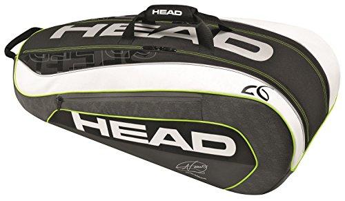 Head Schlägertasche Djokovic 9R Supercombi, Schwarz, 80x31x36 cm, 283086