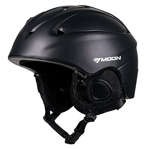 SUNVP Ski Helmet Ultralight Integrally Warmest Windproof Snowboards Snow Sports Helmet Unisex Adult