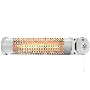 Jago lampada riscaldante per fasciatoio 600 w inclinabile for Cucinare a 70 gradi