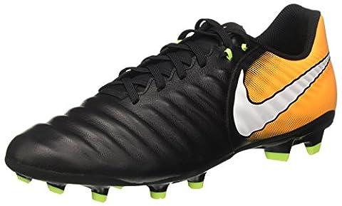Nike Herren Tiempo Ligera IV FG Fußballschuhe, Schwarz (Black/White/Laser Orange/Volt), 44 EU