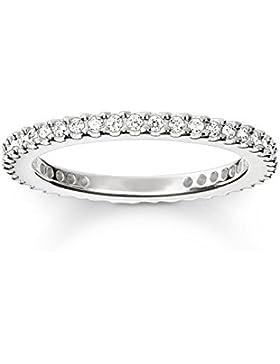 THOMAS SABO Damen-Ring 925er Silber Zirkonia TR1980-051-14-52