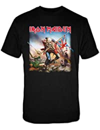 Mens Official License Iron Maiden The Trooper  5287Tsbpl  T-Shirt