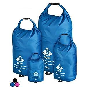 Outdoor Panda Dry Bag Ultralight – [2L 5L 10L 15L] – Einzeln oder Set – Wasserdichter Packsack für Wandern, Radfahren…