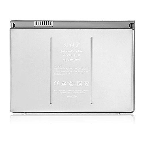 SLODA Laptop Ersatzakku für Apple Macbook Pro 17
