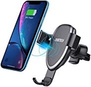 CHOETECH Fast Gravity Wireless Car Charger Air Vent Car Mount, 7.5W Compatible with iPhone 11/11 Pro/XS/XS Max/XR/X/8 Plus, 1