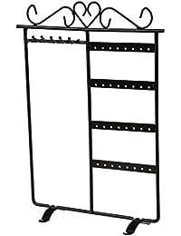 SODIAL(R) Soporte Expositor Muestrario Organizador Estante De Joyeria Pendiente Collar