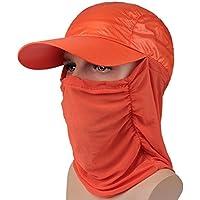 osisdfwa en Visera en Visera Tapa también transpirable entre hombres y mujeres lo habitual., Orange Red
