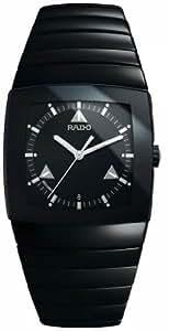 Rado Sintra Ceramic R13765152 31 Black Steel Bracelet & Case Men's Quartz Watch