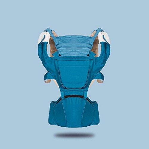 ZHAOJING Schulter-Baby-Träger-Taillen-Schemel-Baby, das Baby-Schemel hält Vier Jahreszeiten Multifunktionstaschen-Taschen-Breathable Schemel ( Farbe : C ) (Schulter Reibung Schnalle Riemen)