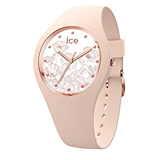 Ice-Watch - Ice Flower Spring Nude - Montre Rose pour Femme avec Bracelet en Silicone - 016663 (Small) (B07N2N4K8Y)   Amazon price tracker / tracking, Amazon price history charts, Amazon price watches, Amazon price drop alerts