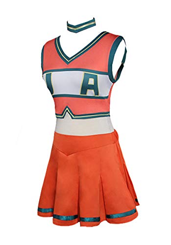 Cheerleader Kostüm Heroes - Huiyemy Boku no Hero Academia My Hero Academia Cheerleaders Uniform Kleid Cosplay Kostüm M