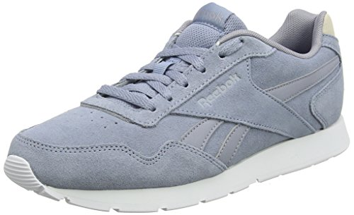 Reebok Damen Royal Glide Sneaker, Blau (Rain Cloud/Cool Shadow/Stucco/White), 37.5 EU