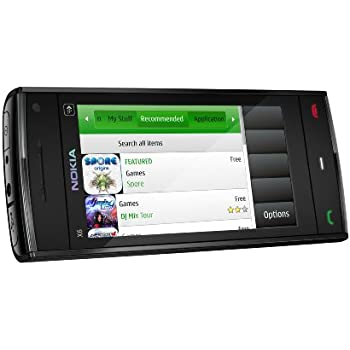 Nokia X6 16GB Sim Free Mobile Phone - Black