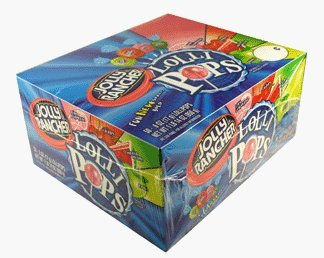 Jolly Rancher Fruit Chew Lollipops (100-Count box) by Jolly Rancher (Jolly Rancher Chews)