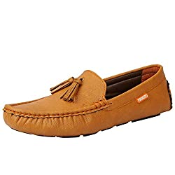 Fausto 3538-41 Tan Mens Loafers