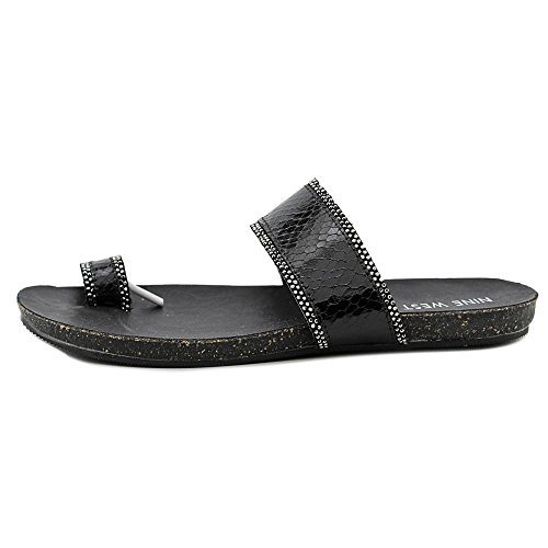 Nine West Bem Synthetik Sandale Preto Ru TT4Rn