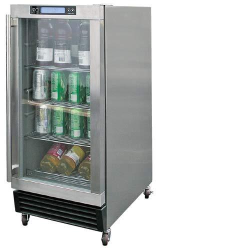 Cal Flame 089245002703 Getränkekühler für den Außenbereich, Edelstahl