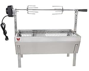 beeketal spie bratengrill 39 sgb 8 39 spie grill mit grillmotor f r h hnchen oder rollbraten mit 5. Black Bedroom Furniture Sets. Home Design Ideas