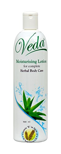 Veda Moisturising Body Lotion for Complete Herbal Body Care, 500ml