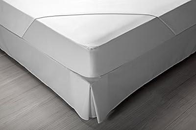 Pikolin Home - Protector de colchón punto, 100% algodón, impermeable y transpirable