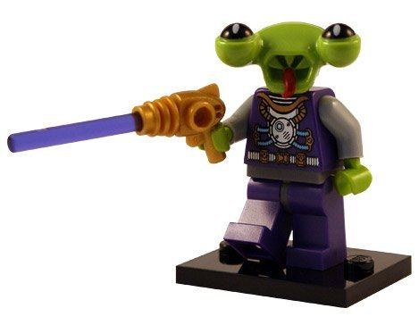 LEGO Figurines à Collectionner: Space Villain Mini-Figurine (Série 3)