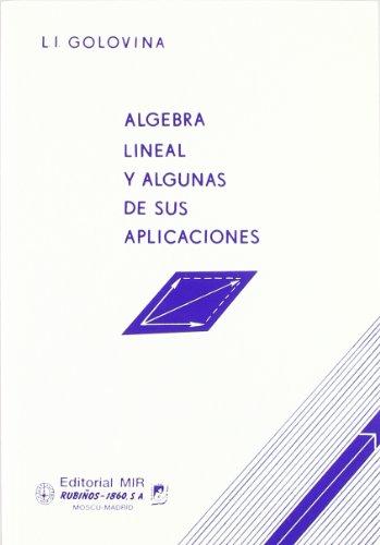 Algebra lineal aplicac. (Fondos Distribuidos) por Golovina