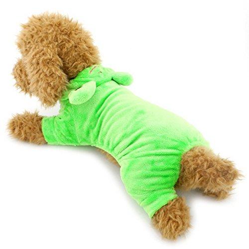 (ranphy Hunde Hoodies für kleine Hunde Katzen Funny Apperal Halloween Party Fancy Kostüm Outfits)