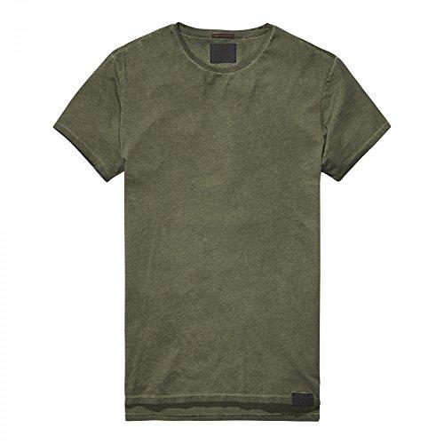 Sctoch & Soda Herren T-Shirt Classic Shortsleeve Tee 139723 Military