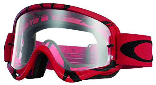 Oakley Mx Goggle O FRAME, Intimidator Red/Black w/Clear, UNI, OO7029-09