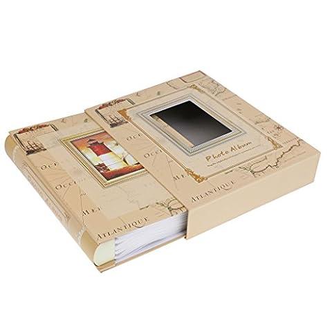Gazechimp DIY Fotoalbum Scrapbook Album - Eisen Turm, 29 x 23 x 5 cm