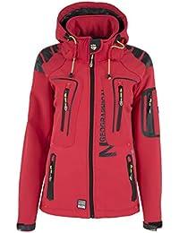 Geographical Norway Tislande Damen Softshell Jacke Corail Gr. S