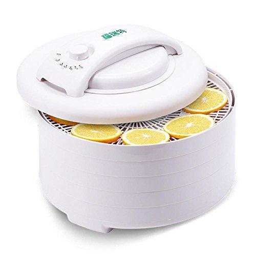 XY-QXZB Dörrgeräte 5 Tier Trockenobstmaschine Trockner für Obst, Gemüse und Fleisch mit einstellbarer Temperaturregelung (Automatische Abschaltung)