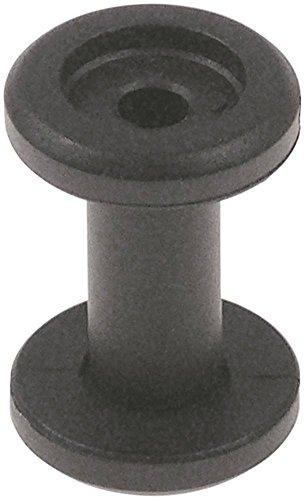 Führungsrolle für Tellerspender Kunststoff ø 12/26mm Länge 37mm schwarz