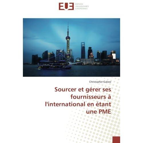 Sourcer et gerer ses fournisseurs A l'international en etant une PME