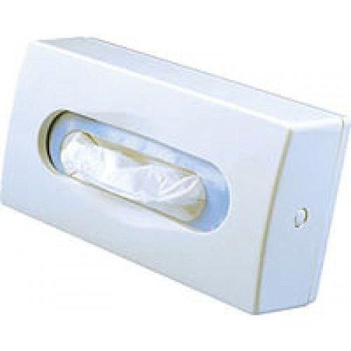 Kosmetiktuchspender Kunststoff weiß für 100 Tücher-Boxen