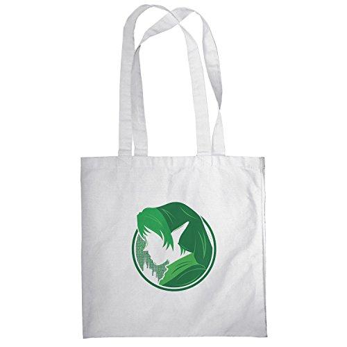 TEXLAB - Green Link - Stoffbeutel, (Kostüm Cute Nerd Männer)