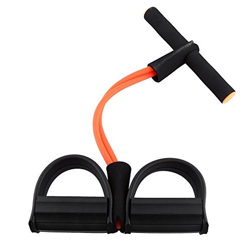 Bandes de Résistance Appareils Musculation Jambe Bras Cuisse Elastique Bandes d'Exercice Entraînement pour Fitness Yoga ( Couleur : Orange )