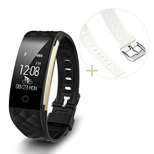 Diggro S2 Intelligente Heart Rate Bracciale Sport Fitness Tracker Sonno Quality Monitor Chiamata / Notifica Promemoria IP67 Impermeabile Per Android e IOS Nero