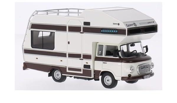 Barkas B1000 Wohnmobil Baujahr 1973 in 1:43 von IST die-cast model