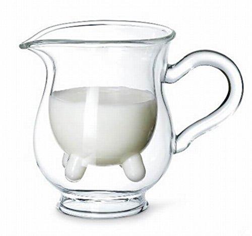 Pot à Lait avec Double Paroi en Forme de \