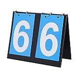 OhhGo Flipper de puntuación portátil Plegable Deportes Tablero de Mesa...