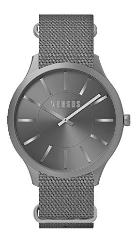 Versus SO605 0013-adulte mixte-Quartz Montre-bracelet Nylon gris