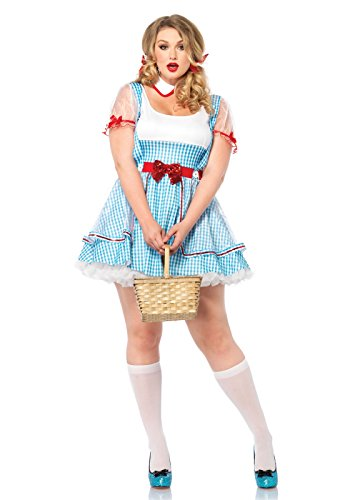 Leg Avenue 85339X - Oz Beauty Kostüm Set, 2-teilig, Größe 44-46, blau