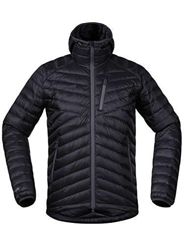 Bergans Herren Daunenjacke Slingsbytind Hooded solid charcoal/dark grey