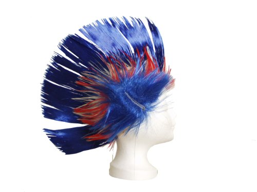 BRUBAKER Perruque France - Collection Supporter - Tricolore / Bleu Blanc Rouge