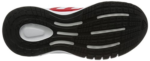 adidas Duramo 7 K, Chaussures de Running Entrainement Garçon Rouge - Rojo (Escarl / Rojsol / Negbas)