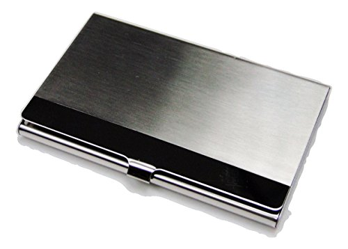 Tapp Collections Geprägt Business Card Case (Silber Ton) -