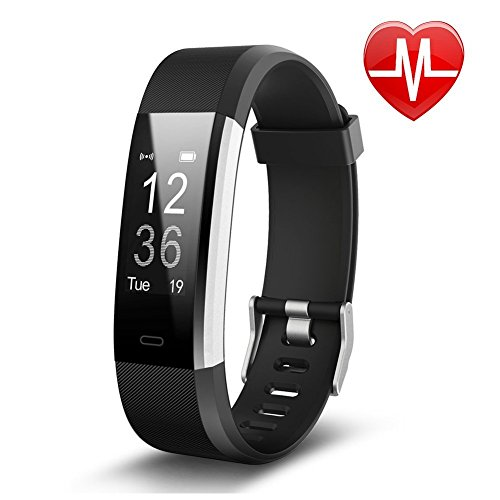 Fitness Tracker by Torus Pro | Smart Watch, Fitness Watch, Mens Watch, Weight Loss | Get Fit and Stay Fit |Heart Rate Monitor, Pedometer, Watch, Sleep Monitor, Sleep Tracker, Activity Tracker, Fitness, Bluetooth, Calorie Counter, Wrist Heart Rate Monitor, Fit Bit, Digital Watch, Best Heart Rate Monitor, SMS and Call Reminder plus Sleep Monitoring, Wireless Phone App, Sport Watch, Long Battery Life, Heart Rate Wristband Compatible with IOS and Android | Outdoor Smart Watch for Men and Women