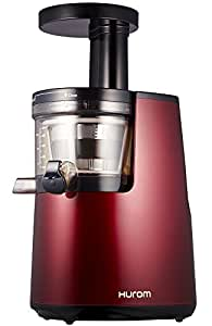 Slow Juicer 40 Rpm : Hurom HH-EBE11 Slow Juicer 2nd Generation Juicer, 40 rpm, wine red: Amazon.co.uk: Sports & Outdoors