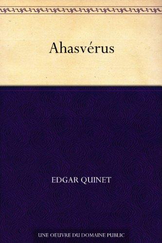 Couverture du livre Ahasvérus